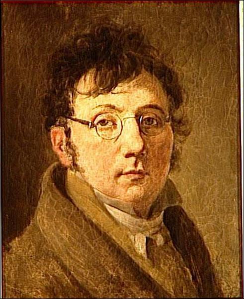 """""""Autoportrait à lunettes"""" Cet artiste peintre, miniaturiste et graveur est surtout connu pour ses scènes de la vie parisienne après la Révolution. De qui s'agit-il ?"""