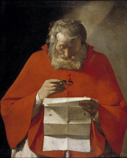 """A quel peintre lorrain du 17e siècle, spécialiste de la technique du clair-obscur, doit-on cette représentation de """"Saint Jérôme lisant"""" ?"""
