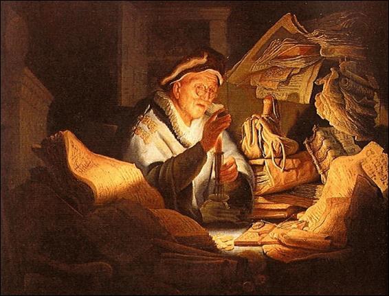 """""""Le Changeur"""" (1627), est une des premières œuvres de ce grand peintre baroque de l'Ecole hollandaise du 17e siècle. Qui est-il ?"""