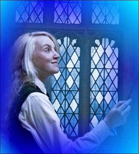 Voici le monde des sorciers selon Luna... Le ministre de la Magie (Rufus Scrimgeour) en personne...