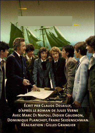 Diffusée à partir de juin 1974, cette mini-série franco-germano-roumaine de 6 épisodes, est une libre adaptation d'un roman de Jules Verne. Il s'agit de :