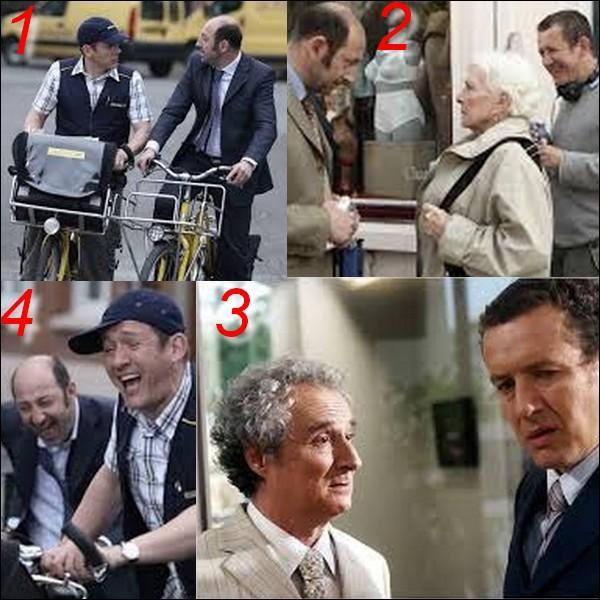"""Parmi ces quatre images laquelle n'appartient pas au film : """"Bienvenue chez les Ch'tis"""" ?"""