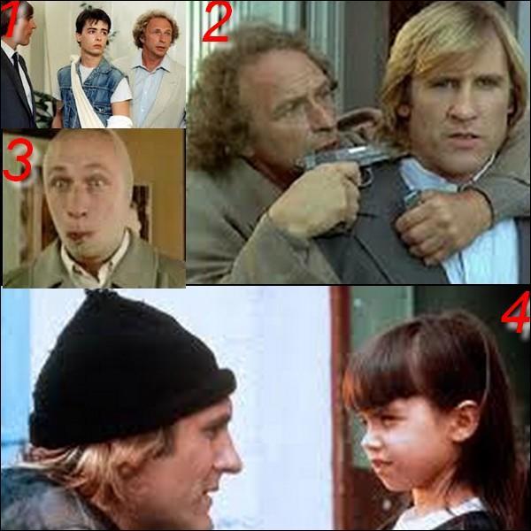 """Parmi ces quatre images laquelle n'appartient pas au film : """"Les fugitifs"""" ?"""