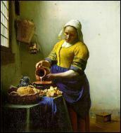 """Quel peintre est l'auteur du célèbre tableau intitulé """"La laitière"""" ?"""