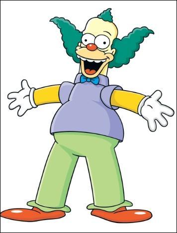 Quelle(s) proposition(s) ne correspond(ent) pas à Krusty ?