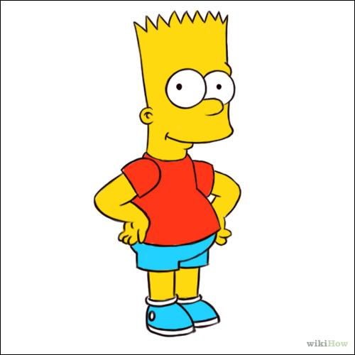 Quelle(s) est/sont la/les bonne(s) réponse(s) concernant Bart Simpson ?