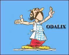 """On le voit dans """"Le tour de Gaule d'Astérix"""". Ce personnage, qui va trahir nos deux amis, se nomme Odalix. Il est ..."""