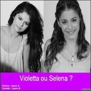 Qui, de Selena et Martina, est la plus jeune ?