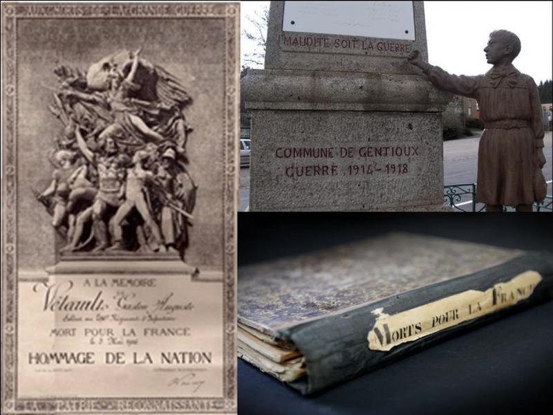 Le 27 avril 1916, le gouvernement français et l'ensemble des parlementaires décident de la création d'un « moyen de commémoration » pour honorer la mémoire des soldats de tous grades, morts pour la France.