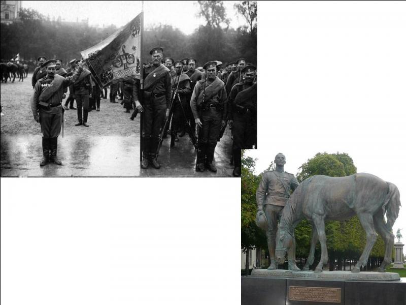 Un renfort de presque 9000 hommes part de leur pays le 13 février 1916 pour arriver le 16 avril 1916 à Marseille. Ils combattront, entre autres, à Verdun après avoir été totalement rééquipés à « la française ». Quel était leur pays d'origine ?