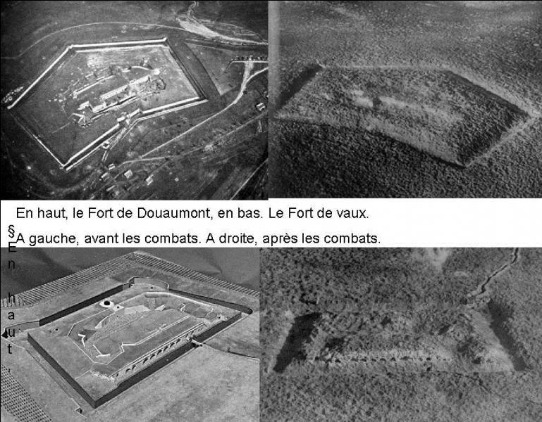 Les 09 mars 1916, les forces allemandes attaquent en deux endroits, au « Fort de Vaux » et au « Fort de Douaumont ». Un seul de ces trois endroits a été conquis dès le début des combats par les Allemands. Lequel est-ce ?