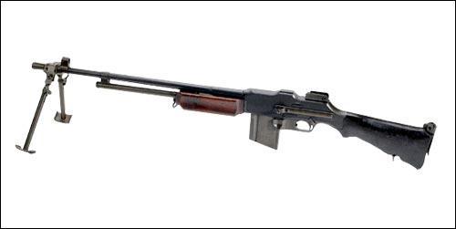 Laquelle de ces armes est allemande?