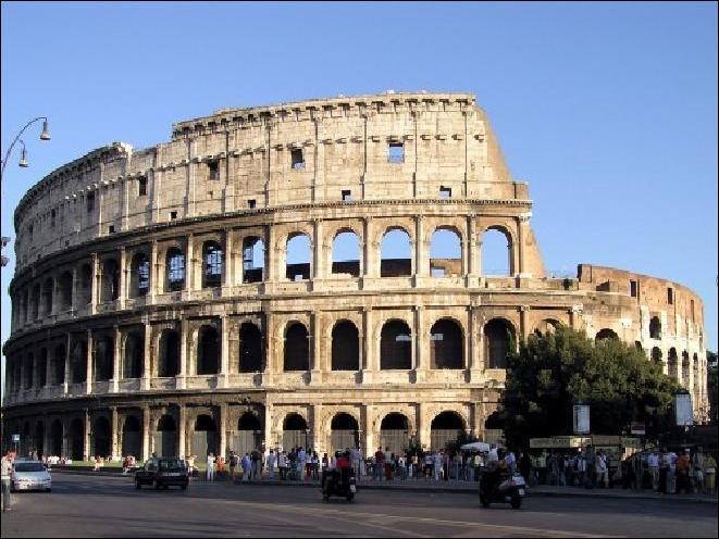 Celui-ci se trouve à Rome, c'est ...