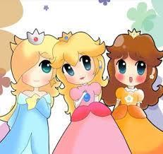 Les princesses de Mario