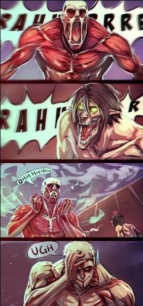 Quel Titan est en fait très peureux ?
