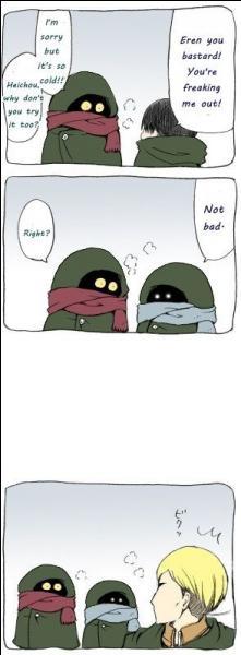 Qui sont les deux soldats suivant le major Erwin ?