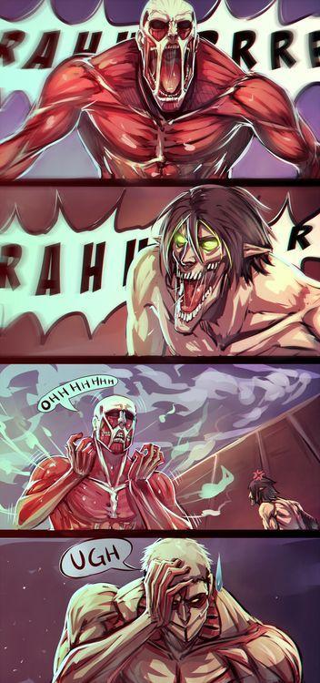 L'attaque des Titans en délire ! (1)