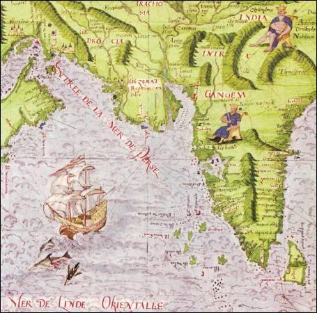 """""""Considérées comme des """"curiosités"""" ou des """"monuments"""" par les premiers historiens de la cartographie, au milieu du XIXe siècle, ces cartes s'attachent à représenter l'espace maritime. Par conséquent quel est leur nom ?"""