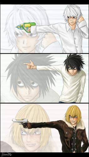 Lequel des ces trois personnages est le plus menaçant ?