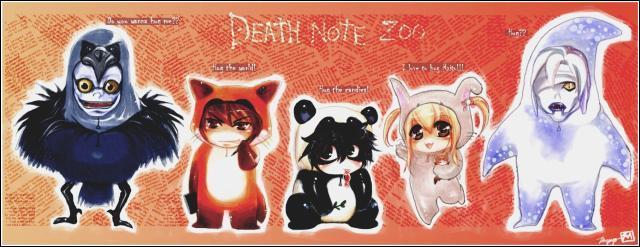 Si les personnages de Death Note étaient des animaux que serait Rem ?