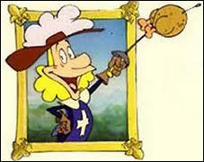 Il est le cinquième mousquetaire dans le dessin animé homonyme. Quel est son nom ?
