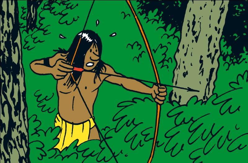 Comment s'appelle cet Indien ayant livré Milou au sorcier ?
