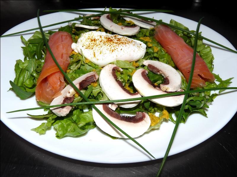 De quoi cette salade est-elle composée ?