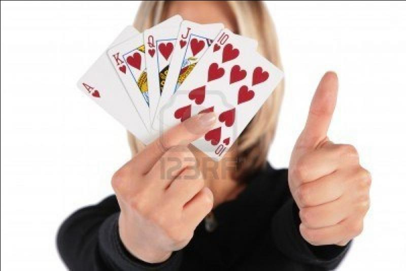 """Que signifie """"avoir la main"""" aux cartes ?"""