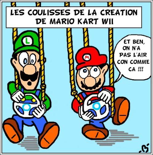 Comment font vraiment Mario et Cie pour conduire dans MKWII ?