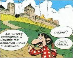 """Voici Alambix. Personnage de l'album """"Le Bouclier Arverne"""", il tient un commerce à Gergovie. Mais de quel commerce s'agit-il ?"""