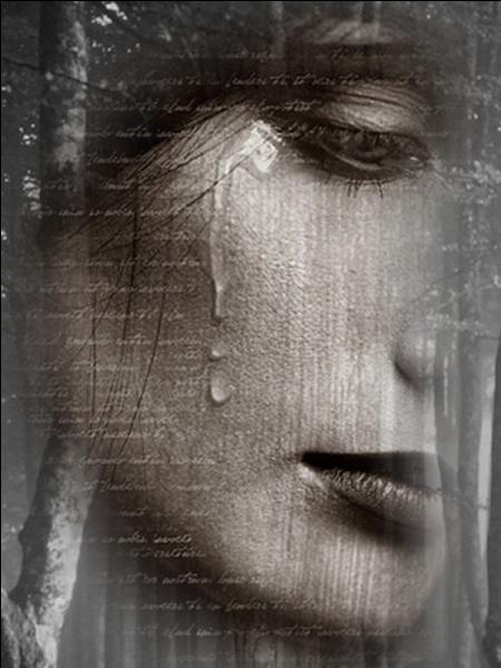 """Il lui disait """"Ne pleure pas, non ne pleure pas, tu as toujours les yeux d'autrefois"""" ..."""