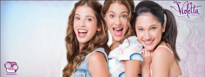 Qui sont les meilleures amies de Violetta dans la série ?