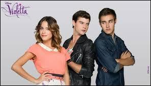 Dans la saison 2, quels sont les deux garçons pour qui le coeur de Violetta balance ?