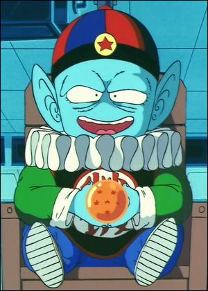 Comment se nomme ce personnage qui comme la fille de la question précédente souhaite réunir les 7 Dragon Balls ?