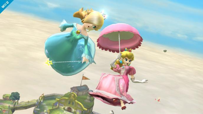 Les princesses de Mario 2