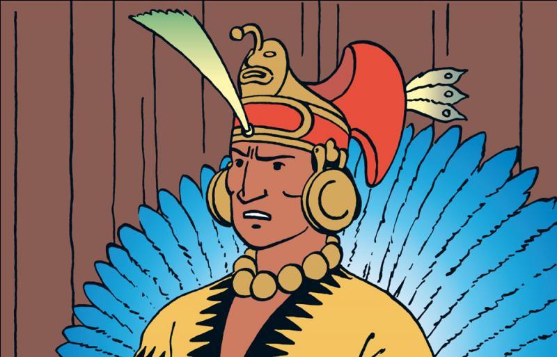 Quel est le prénom de cet Inca ?