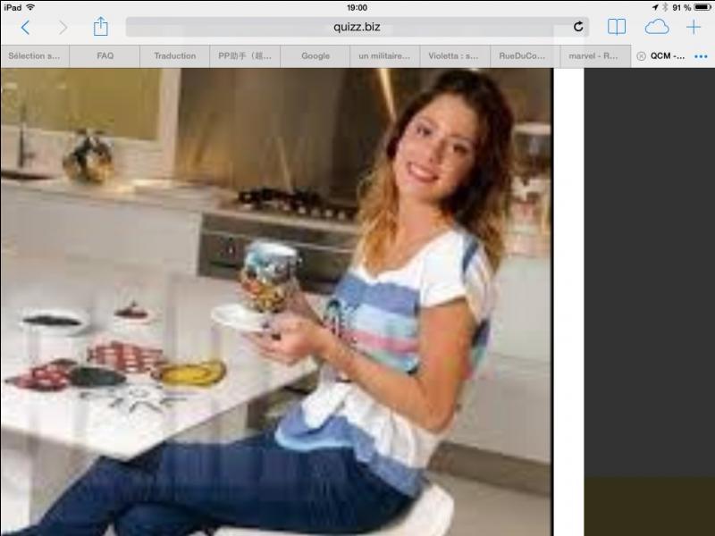 Martina Stoessel est-elle comme Violetta ?