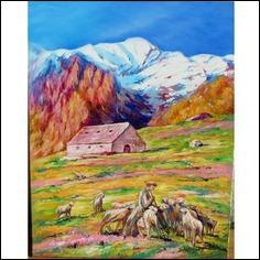 Dans un coin perdu de montagne, qui chantait son amour dans le calme du soir ?