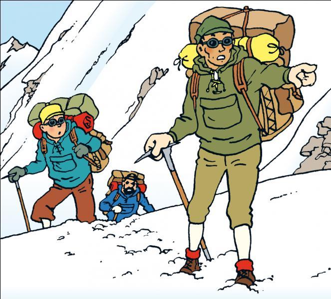 Lequel de ces hommes guide Tintin au Tibet ?