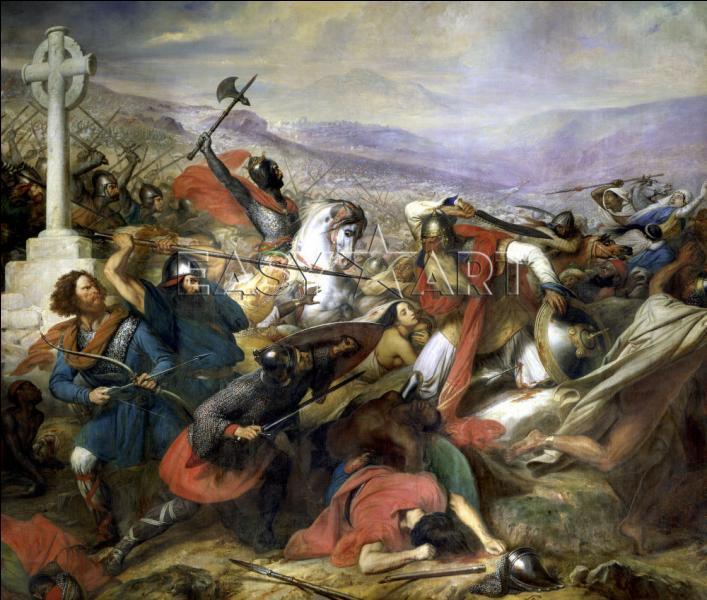 L'histoire de Charles Martel arrêtant les arabes à Poitiers est en réalité une histoire presque entièrement fausse. Du coup je me demande lequel de ces trois faits est vrai ?