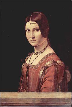 """Voici la belle Ferronnière de Léonard de Vinci, mais pourquoi """"Ferronnière"""" ?"""
