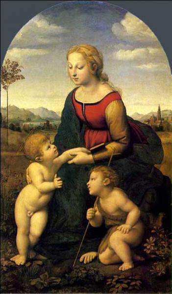 """Qui a peint """"La belle jardinière"""" ?"""