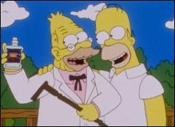 Comment s'appelle le père d'Homer, vieil homme sénile et narcoleptique ?