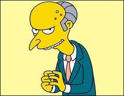 Qui est amoureux secrètement du cruel Mr. Burns, propriétaire de la centrale nucléaire ?