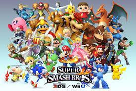Super Smash Bros.- Nintendo 3DS