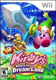 """Quelle est la particularité de """"Kirby Adventure"""" ?"""