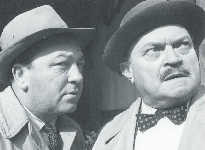 """Bon sang de bonsoir ! J'ai oublié de vous poser une question. Vous aviez reconnu l'inspecteur Bourrel incarné par Raymond Souplex, mais vous souvenez-vous du nom de l'acteur qui jouait l'inspecteur Dupuy dans """"Les cinq dernières minutes"""" ?"""
