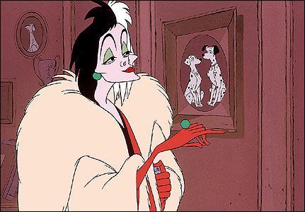 Qui est cette femme au manteau de fourrure ?