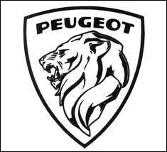 En quelle année, la marque Peugeot a-t-elle adopté le logo ci-contre ?