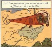 """Quel type de """"méchants"""", Tintin et le capitaine Haddock poursuivent-ils en hélicoptère ?"""